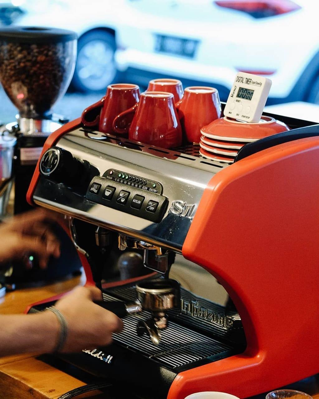 lazpaziale espresso machine Indonesia